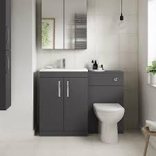 ashford grey gloss combination unit