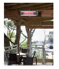 skip to the beginning of the images gallery details the fire sense stainless steel wall mounted infrared patio heater