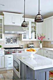 lighting for small kitchens. 61 Types Mandatory Different Color Kitchen Island On Lighting Ideas For Small Kitchens Cabinets With Cognac Two Tone Drop Leaves How To Paint Oak And Hide S