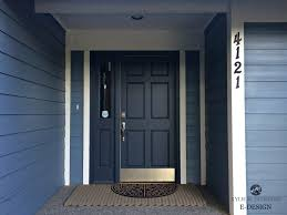 white front door blue house. Front Door Painted Benjamin Moore Hale Navy, Blue Siding And White Trim. Best Paint House U