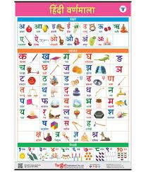 Alphabet Numbers Chart Hindi Varnamala Chart For Kids Hindi Alphabet And Numbers Perfect For Homeschooling Kindergarten And Nursery Children 39 25 X 27 25 Inch