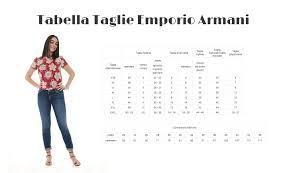 Emporio Armani Size Chart Emporio Armani Jersey Woman With Ruffles 6z2my4 2m4az