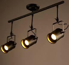 industrial track lighting. industrial loft track lighting american rural lamp spotlights retro bar counter shop backlights