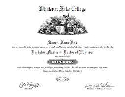 Fake Diploma Template Free Fake Diploma And Transcript Templates