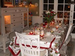 christmas centerpieces for dining room tables. Wonderful Dark Brown Glass Cool Design Decorating Christmas White Wood Modern Table Setting Ideas Rectangular Cloth Candle Dinner Party Centerpieces For Dining Room Tables .