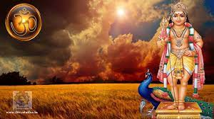 Hindu God Muruga Kartikeya Subrahmanya ...