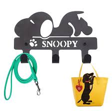 Amazon.com: PandS Snoopy Key Hooks with 3 Hooks - Snoopy Key Hooks - Key  Rack Great for Leashes Coats Purses Bags Keys and Hats - Decor for Your  Home Entryway and Bathroom: Home Improvement
