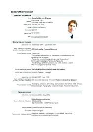 Resume Format For Mca Freshers Latest Resume Sample Latest Resume
