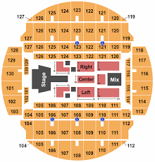 Bojangles Coliseum Seating Charts For All 2019 Events