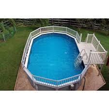 vinyl works deluxe 24 in in pool step