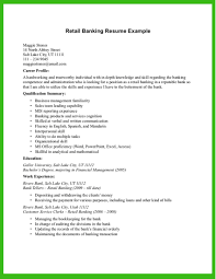 Retail Banking Resume Sample Retail Banking Resume Example httpwwwresumecareerretail 2