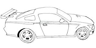 Race Car Coloring Pages Printable Race Car Coloring Page Race Car