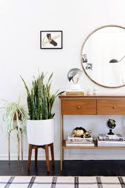 entryway table creating inviting impression at the first sight. Mid Century Planter Entryway Ideas Table Creating Inviting Impression At The First Sight W