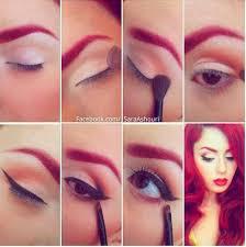 smokey pin up makeup tutorial sara ashouri makeup artistu0027s pin up eyeliner tutorial