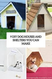 Creative Dog Houses 9 Creative Diy Dog House Ideas To Build Shelterness