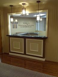 law office interior design. customized reception law office interior design