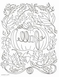 23 Beautiful Free Printable Fall Coloring Pages | exectran.net
