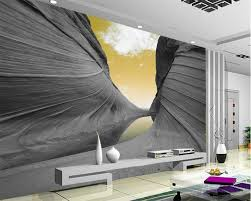Beibehang Aangepaste Behang 3d Esthetische Mountain Sky Moderne