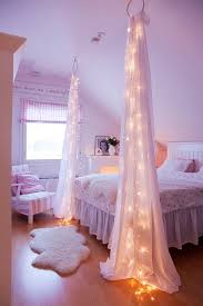 bedroom decoration. Starry Night String Light For Bed Decor: Simply Up Your Lights And A Couple Bedroom Decoration