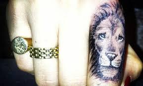 Tetování Znamení Lev