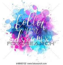 Calligraphy Backgrounds Watercolor Background With Handwritten Calligraphy Clipart