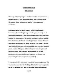 observation in magistrate courts university law marked by  page 1
