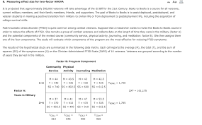 effect size anova solved 8 measuring effect size for two factor anova aa a