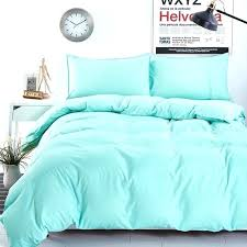 simple light blue all solid color bedding sets striped bed sheet in solid color duvet covers
