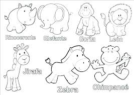 Coloring Pages Baby Animals Colouring Pages Domestic Coloring