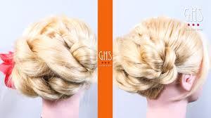 浴衣用の髪型ロング編編み込みやアップの簡単ヘアアレンジのやり方を