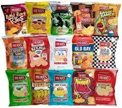 junk food snacks. Delighful Food Several Flavors Of Herru0027s Potato Chips Herru0027s FoodsFacebook And Junk Food Snacks H