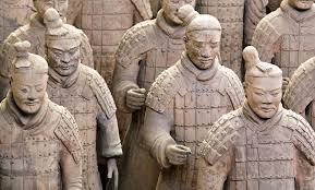 terracotta army warriors xian china