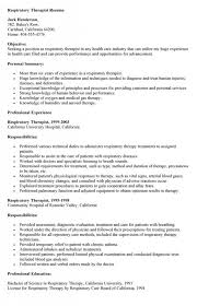 Respiratory Therapist Resume Sample Interesting 28 Respiratory Therapist Resume Samples Maximize Your Ideas Www