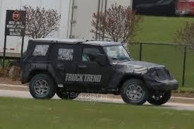 2018 jeep truck. delighful jeep update ecodiesel engine confirmed  first look  2018 jeep wrangler jl in  heavy camouflage in jeep truck