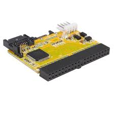 ide to sata adapter converter drive adapters and converters connect 2 sata hard drives to an ide motherboard or card