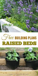 free building plans for raised garden beds whether you re looking to start a