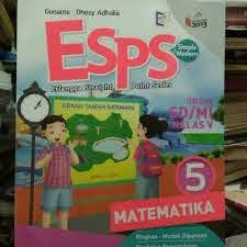 Buku paket / buku pegangan siswa yang digunakan pada. Buku Esps Matematika Kelas 5 Sd Erlangga K 13 Shopee Indonesia
