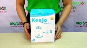 Máy hâm nóng sữa và thức ăn, tiệt trùng bình sữa Kenjo KJ08 của Nhật Bản