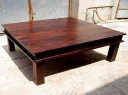 Charming ... Large Wooden Coffee Table Elegant Square Coffee Table For Oval Coffee  Table ... Photo