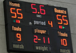 Image result for Scoreboard tied