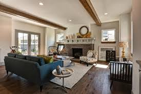 Hardwood Floors Living Room Model