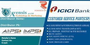 Icici Bank Customer Service Point Icici Aeps Retailer A C