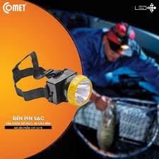 Đèn pin sạc đội đầu LED COMET CRT1611B giảm chỉ còn 79,000 đ