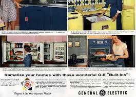 wall cabinet refrigerator 1956