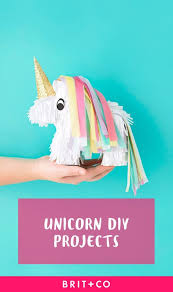 these 21 unicorn diy projects will make all your dreams come true brit co