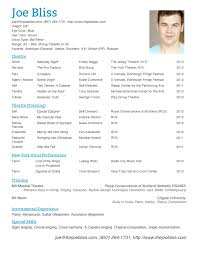 Dance Resume Free Resume Example And Writing Download