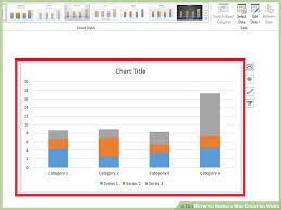 Make A T Chart In Word Simple How To Make A Bar Chart In Word With Pictures WikiHow