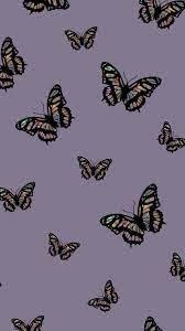 Purple Aesthetic Butterflies Wallpapers ...