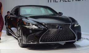 2018 lexus hybrid models. wonderful lexus the 2018 lexus ls 500h model debuted in detroit with its standard gasoline  sibling but on lexus hybrid models