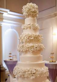 8 Tier Wedding Cake Covered With Beautiful Roses Sri Lanka Online